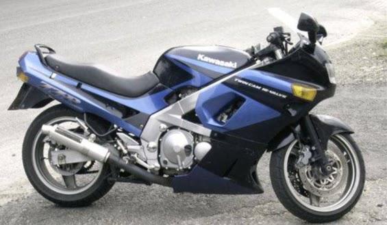 Kawasaki ZZR 500 Ninja-manual-taller-despiece-mecanica