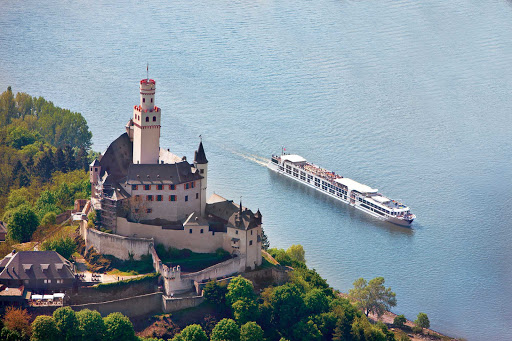 SS-Antoinette-castle-on-Rhine-1.jpg - See fairytale towns, castles and vineyards along the Rhine River, including this area, a UNESCO World Heritage site, during your sailing on S.S. Antoinette.