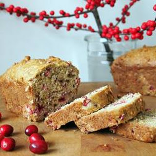 Pear & Cranberry Loaf.