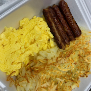 Two Eggs with Sausage