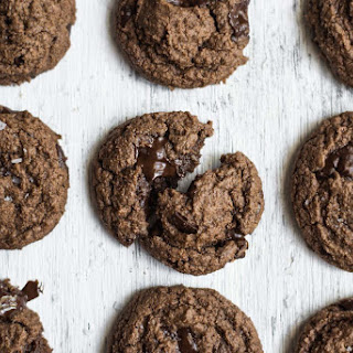 The Ultimate Double Chocolate Chip Cookie {Gluten Free}.