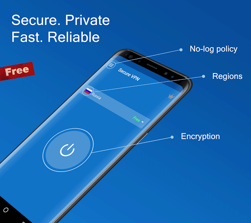 Secure VPN - Free VPN Proxy, Best & Fast Shield 1.5.9 screenshots 1