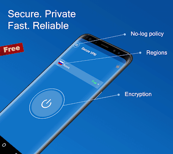Secure VPN - Free VPN Proxy, Best & Fast Shield Screenshot