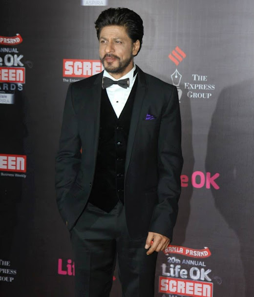 Shahrukh Khan at Life OK Screen Awards 2013