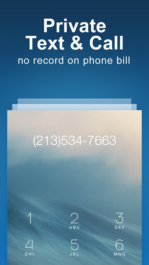 Private Text Messaging + Secure Texting & Calling- screenshot