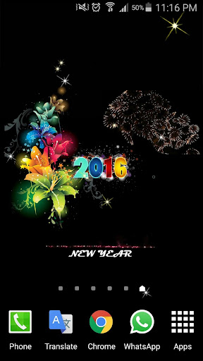 2016 New Year HD Livewallpaper