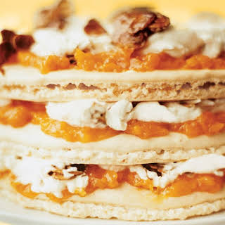 Apricot Almond Layer Cake.