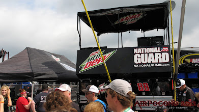 Photo: That's on MY bucket list - to sit on top of the pitbox for one of Jr's races! Awesome!