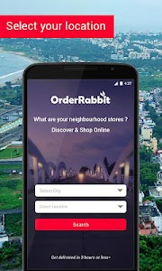 OrderRabbit - Truly Hyperlocal screenshot 0