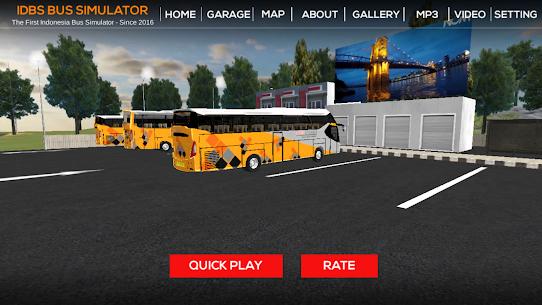 IDBS Bus Simulator MOD (Unlimited Money) 1