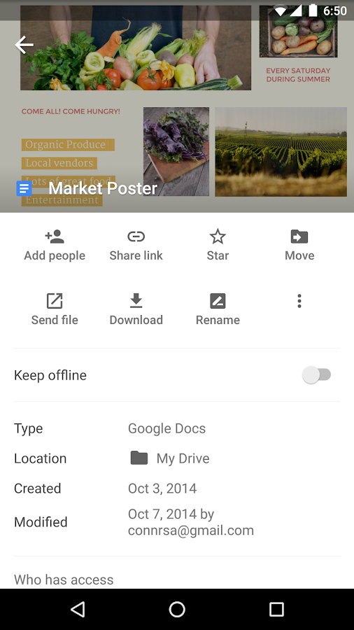 Google Drive- screenshot