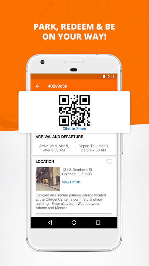 Parking Panda: Book Deals Now- screenshot