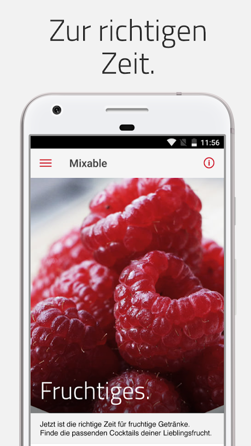 mixable, die Cocktail-App- screenshot