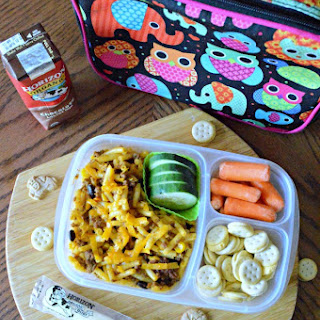 Easy Taco Macaroni for School Lunches