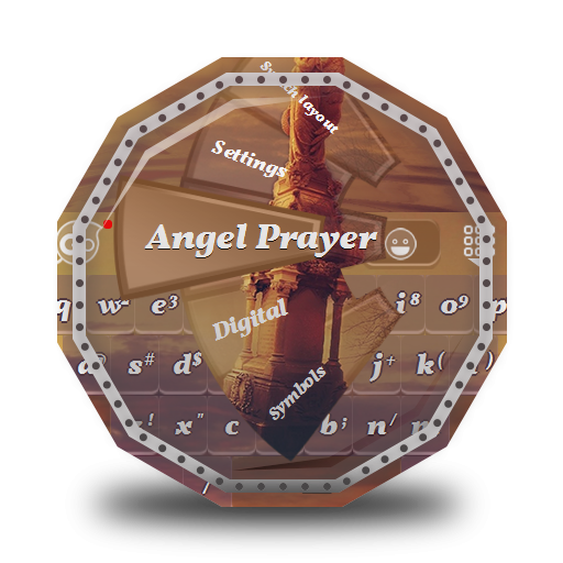 Angel Prayer GO Keyboard 個人化 App LOGO-APP試玩