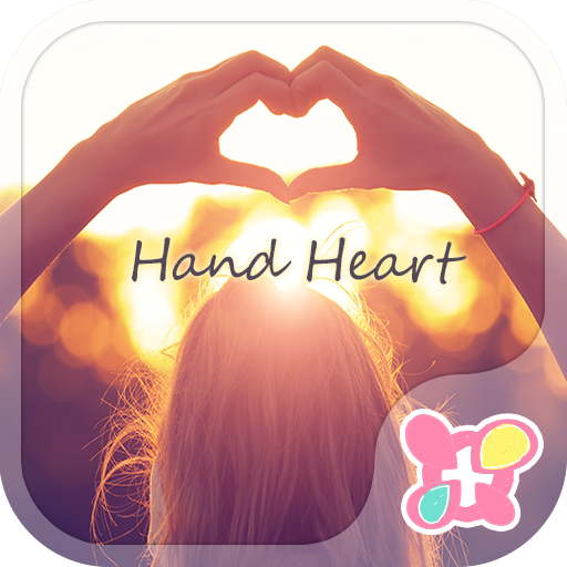 Cute Theme-Hand Heart- Icon