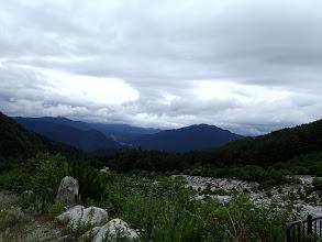 堰堤横からの展望(西方面)