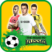 Soccer World Cup Russia 2018 : Road to Russia APK