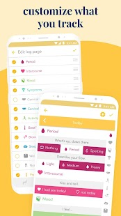 Ovia Fertility: Ovulation & Cycle Tracker Screenshot