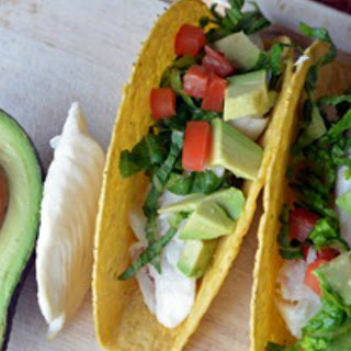 Love Your Heart with Fish and Avocado Taco.