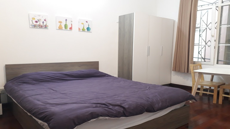 Budget studio apartment in Trung Hoa area, Cau Giay district for rent
