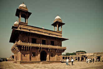 Photo: The abandoned old Mughal capital of Fatehpur Sikri, Uttar Pradesh, India