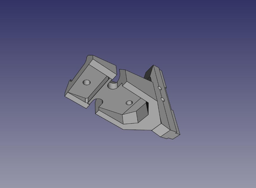 Modèle 3D d'une pièce de planteuse