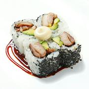 Teriyaki Chicken & Avo Medium Roll