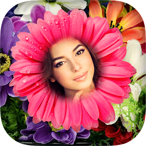 Flower Frames and Collages Icon