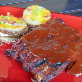 FOOLPROOF RIBS WITH BBQ SAUCE.