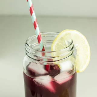 Naturally Sweetened Blueberry Lemonade