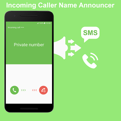 Incoming Caller Name Announcer - screenshot