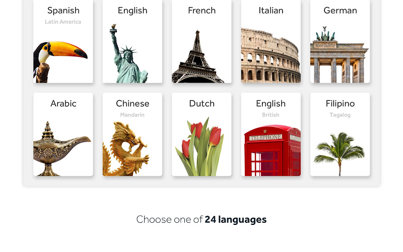 Rosetta Stone: Learn to Speak & Read New Languages Screenshot 7