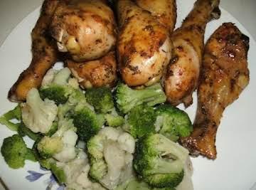 Nigerian Baked Spicy Chicken Drumsticks