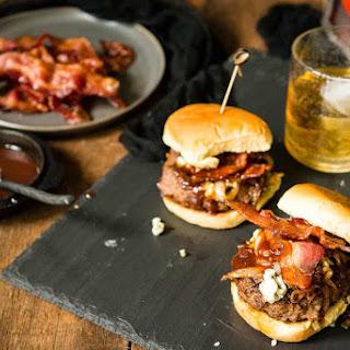 Bourbon and Blue Burger.