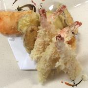 Shrimp & Veggie Tempura(4/6) Set Course
