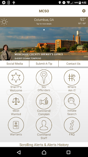 Muscogee County Sheriff screenshot 1