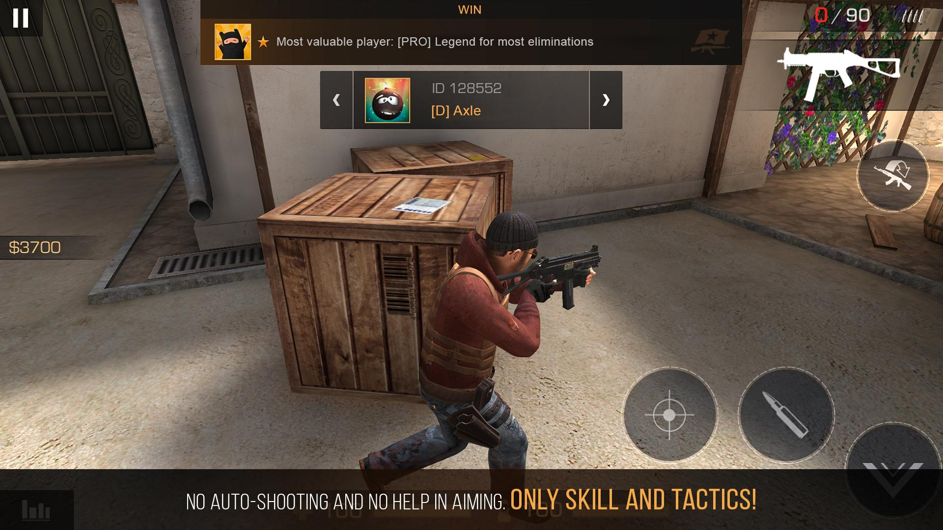 Standoff 2 Mod Apk (Unlimited Money/Health) Unlimited Ammo Hack 7