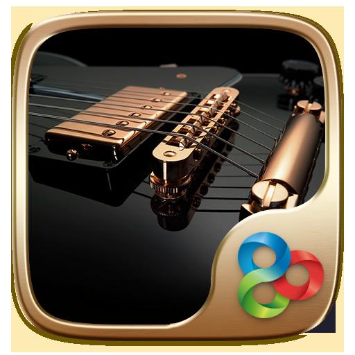 Gold Go Launcher Theme 個人化 App LOGO-APP開箱王