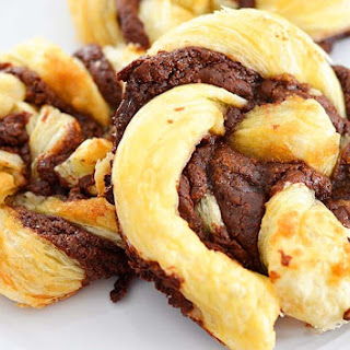4 Ingredient Nutella Puff Pastry Twists Recipe