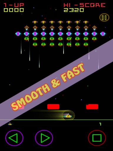Plasma Invaders (Classic Arcade Space Game)  captures d'écran 2