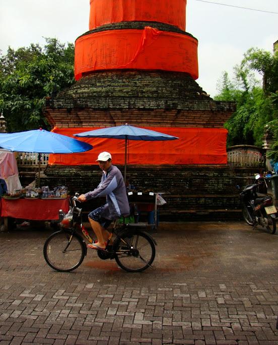La bici en Chiang Mai