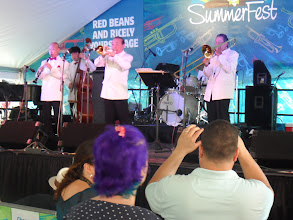 Photo: Yoshio Toyama and the Dixie Saints put on a wonderful show. My highlight of the day, as it was for the TP: http://www.nola.com/satchmofest/index.ssf/2013/08/second_day_of_satchmo_summerfe.html#incart_more_entertainment