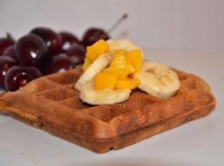 Banana-pumpkin Waffles Recipe
