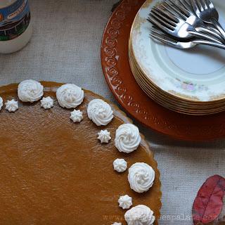 Pumpkin Apple Brandy Mousse Tart