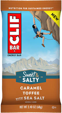 Clif Bar Original Bars: Caramel Toffee with Sea Salt, Box of 12 alternate image 2