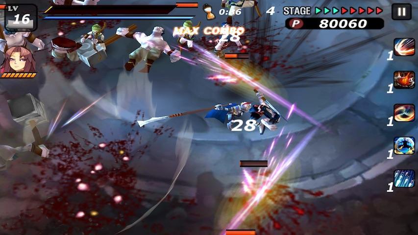 android Samurai Combat - 3D bataille Screenshot 1