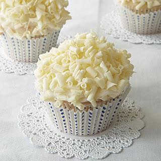 White Linen Cupcakes