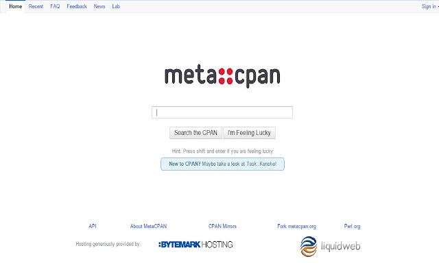 Meta CPAN redirect