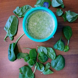 Green Banana Oatmeal Smoothie